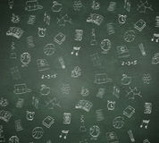 Composite image of school doodles Royalty Free Stock Photo