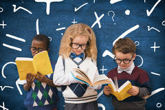 Composite image of school kids stock images
