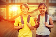 Composite image of school kids royalty free stock image