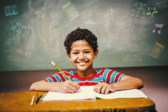 Composite image of school subjects doodles Royalty Free Stock Photo