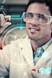Composite image of science and medical graphic Royalty Free Stock Photos