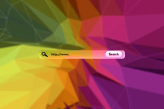 Composite image of search engine Royalty Free Stock Image