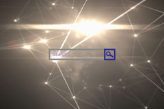 Composite image of search engine Stock Photo