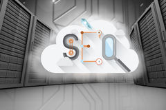 Composite image of seo Royalty Free Stock Images