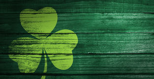 Composite image of shamrock images Stock Photos
