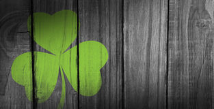 Composite image of shamrock images Royalty Free Stock Photos