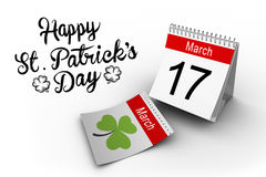 Composite image of shamrock images Stock Photo