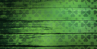 Composite image of shamrock images pattern Royalty Free Stock Photos