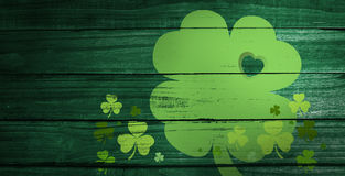 Composite image of shamrock images Royalty Free Stock Images