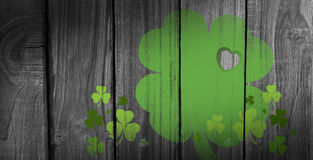 Composite image of shamrock imagess Royalty Free Stock Photos