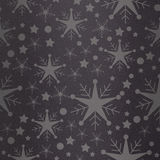 Composite image of snowflake pattern Stock Images