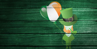 Composite image of st patricks day graphics Royalty Free Stock Photo
