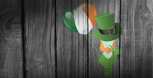 Composite image of st patricks day graphics Stock Photography
