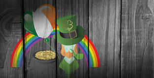 Composite image of st patricks day graphics Royalty Free Stock Photography