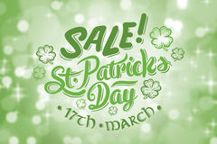 Composite image of st patricks day sale ad Royalty Free Stock Photography