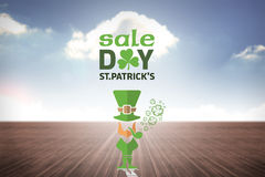 Composite image of st patricks day sale ad Stock Photography