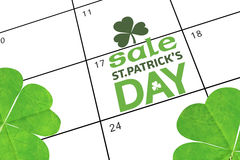 Composite image of st patricks day sale ad Royalty Free Stock Photo