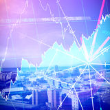 Composite image of stocks and shares Stock Images
