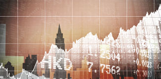 Composite image of stocks and shares Royalty Free Stock Photography