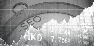 Composite image of stocks and shares Stock Photography
