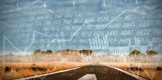 Composite image of stocks and shares Royalty Free Stock Photo