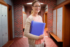 Composite image of teaching student Royalty Free Stock Photos
