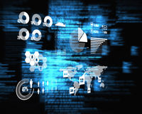 Composite image of technology interface Stock Image