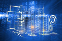 Composite image of technology interface Royalty Free Stock Images