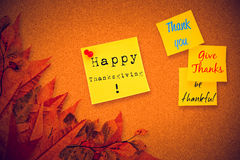 Composite image of thank you Stock Photo