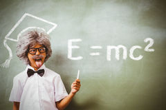 Composite image of theory of relativity Stock Images