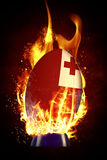 Composite image of tonga rugby ball Royalty Free Stock Photo