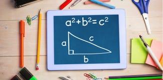 Composite image of trigonometry Royalty Free Stock Image