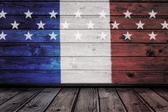 Composite image of usa national flag Royalty Free Stock Photos