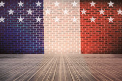 Composite image of usa national flag Royalty Free Stock Photo