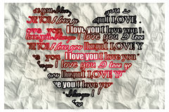 Composite image of valentines day pattern Royalty Free Stock Images