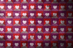 Composite image of valentines day pattern Stock Images