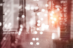 Composite image of view of industry Royalty Free Stock Images