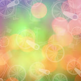 Composite image of vintage bike logo Royalty Free Stock Images