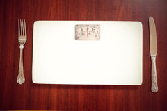 Composite image of weighing scales Royalty Free Stock Images