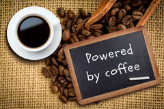 Composite image of white cup of coffee Royalty Free Stock Image