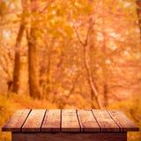 Composite image of wooden floor Stock Photo