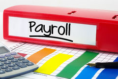 Composite image of word payroll underlined royalty free stock images