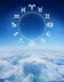 Composite image of zodiac chart Royalty Free Stock Photography