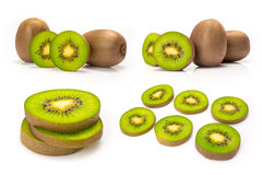 Composite of kiwi fruit Stock Image
