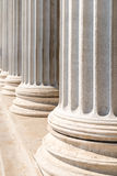 Composite Order Of Greek Style Columns Stock Photography