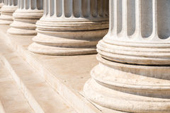 Composite Order Of Greek Style Columns Royalty Free Stock Photos
