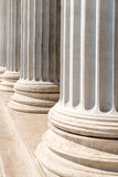 Composite Order Of Greek Style Columns Royalty Free Stock Photography