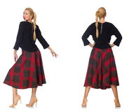 Composite photo of woman in various poses Royalty Free Stock Image