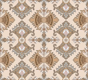 Composite seamless pattern in oriental style Royalty Free Stock Photography