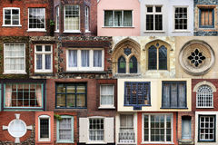 COMPOSITE OF WINDOWS Royalty Free Stock Photos